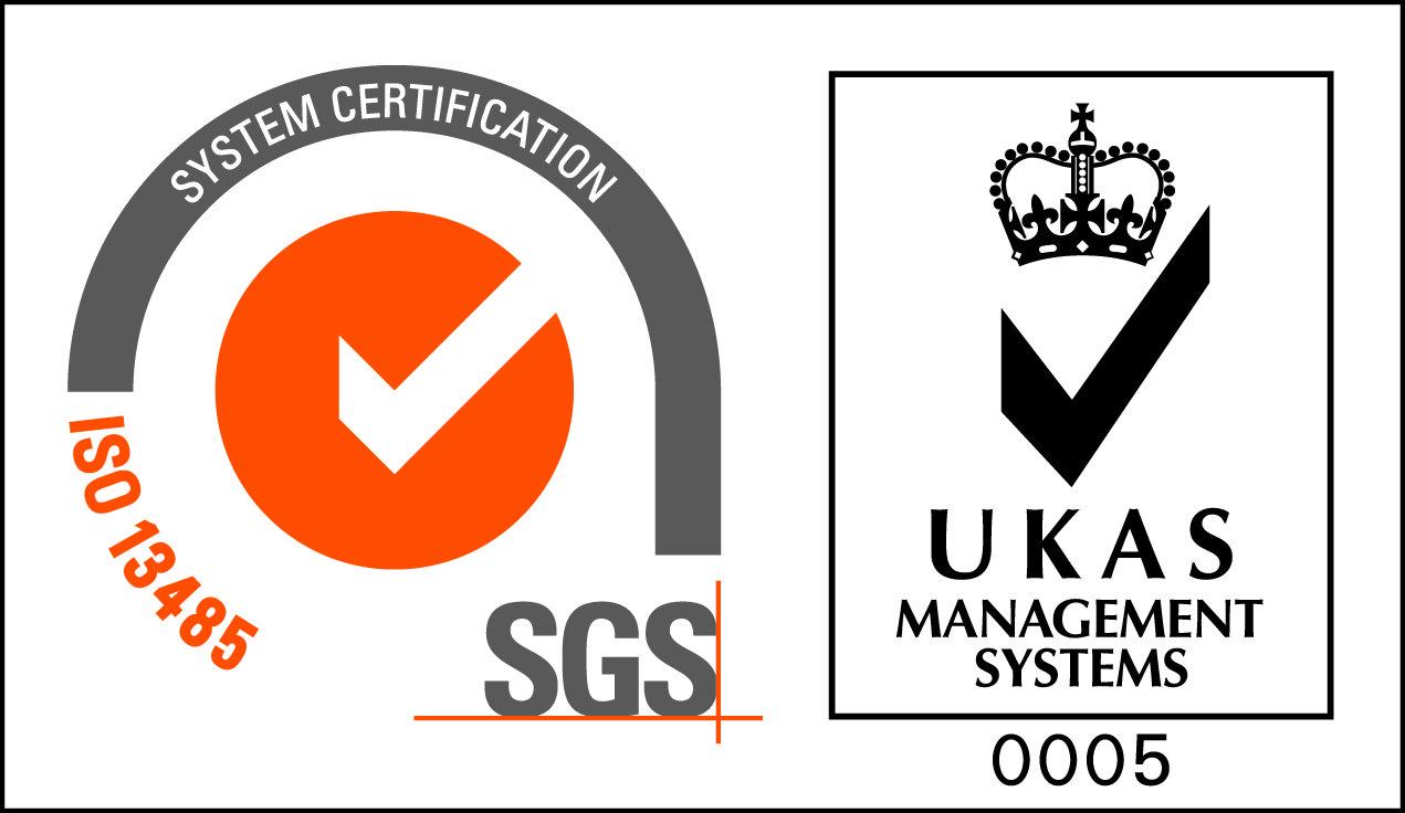 OGM - ISO 13485 SGS Accreditation