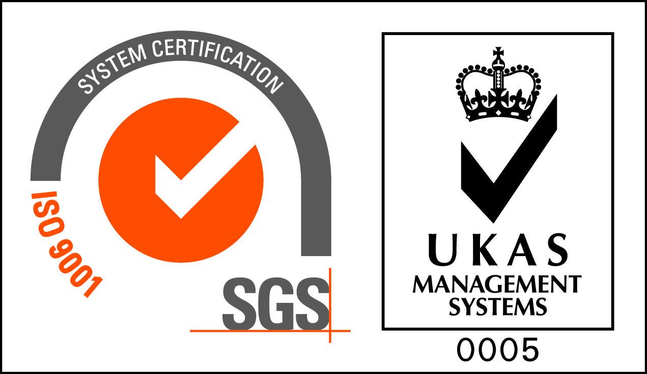 OGM - ISO 9001 SGS Accreditation